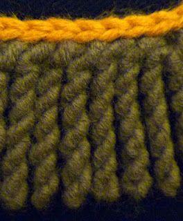 Twisted Crochet Fringe Tutorial