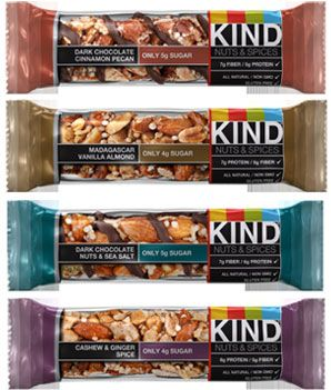 KIND Bar launches new low-sugar KIND Nuts & Spices—so good! High protein,