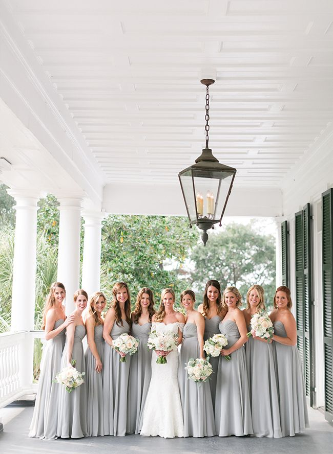 Neutral Plantation Wedding in Charleston - Inspired By This