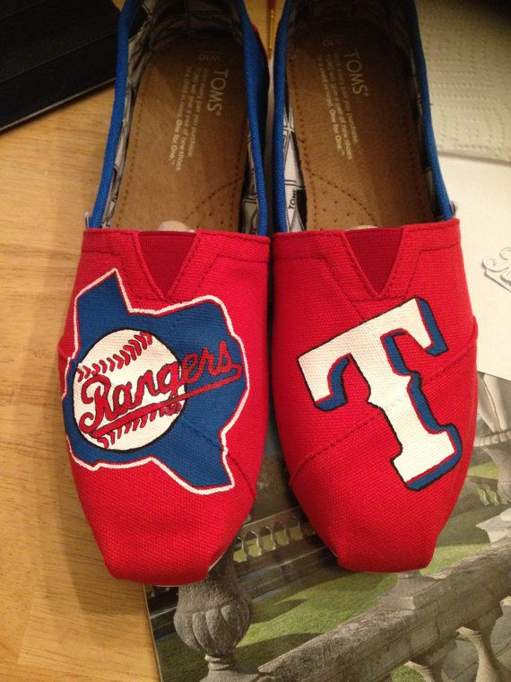Texas ranger toms on Etsy, $100.00