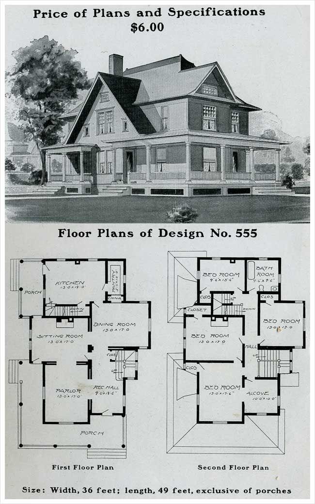 105 best Radford Homes images – Floor Plans For Old Houses