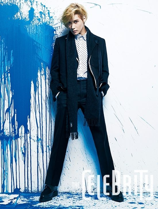 Taemin for The Celebrity Magazine ok now this is something...