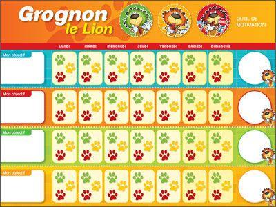 Un outil de motivation ludique pour calmer les «petits lions».