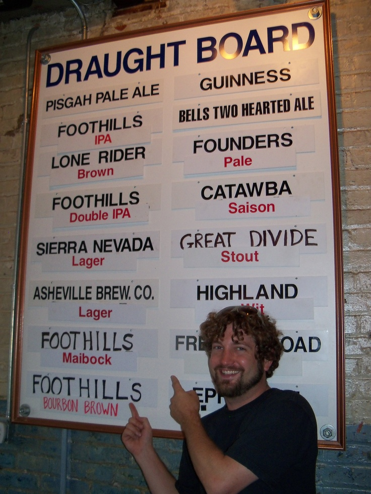 Evan from @FoothillsPub gives drinking directions. #avlbeer #avlpics #avl: Avlpics Avl, Avlbeer Avlpics, Asheville Beer, Aka Asheville, Avl Asheville, Asheville Nc