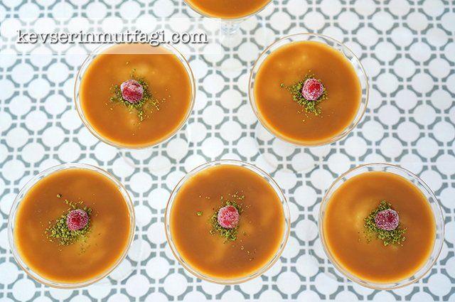 Karamelli Muhallebi Tarifi | Kevserin Mutfağı - Yemek Tarifleri