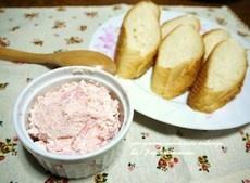 「<バケットとロースハムのリエット風>」レシピ みんなの朝ごはん・朝食レシピ:朝時間.jp