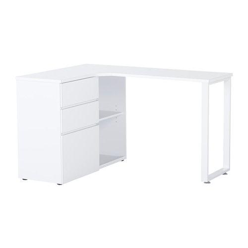 bureau ado ikea great bureau peint en gris chez flamant. Black Bedroom Furniture Sets. Home Design Ideas