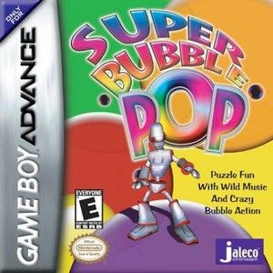 Super Bubble Pop - Game Boy Advance Game