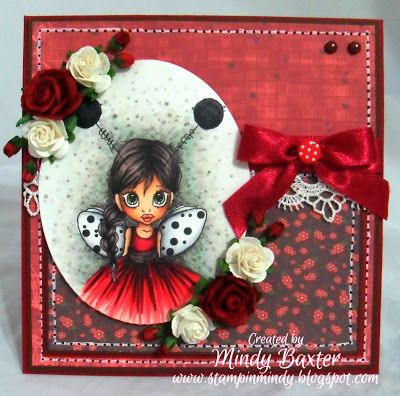 Mindy: New Challenge at Caturated Canary - Little Ladybug