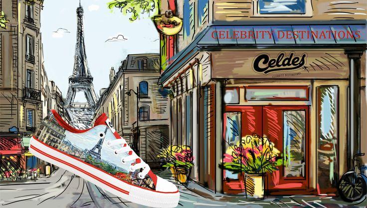 Un matin a Paris📍 Take a walk with your Celdes at http://celdes.com/all/147-paris-vue-of-the-eiffel-tower.html #exploreceldes #exoloretheworld #paris
