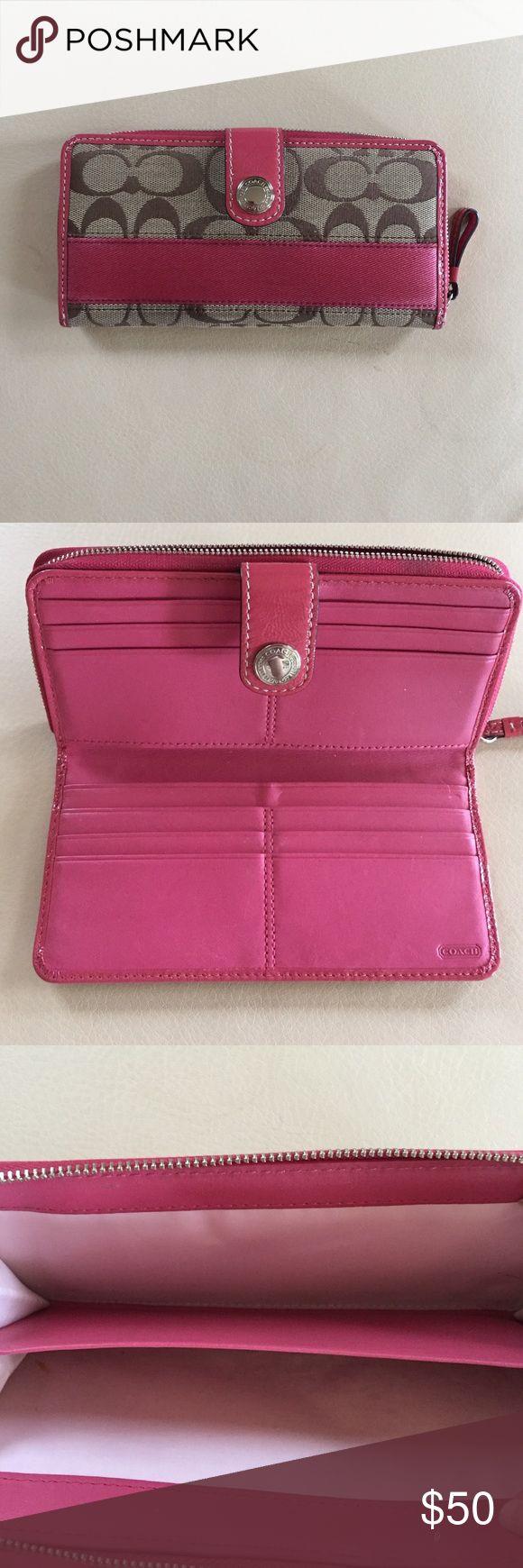 Coach wallet authenticsalenew price Like new authentic coach wallet Coach Bags Wallets