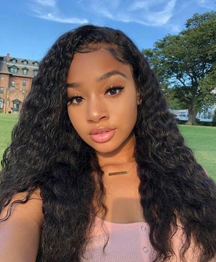 Gorgeous 40 Cute Wet Hairstyles For Black Hair Http Dressip Com Index Php 2019 02 28 40 Cute Wet Hairstyle Wet And Wavy Hair Curly Hair Styles Wig Hairstyles