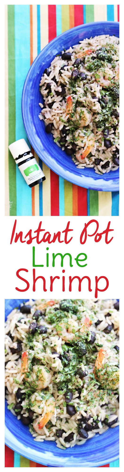Instant Pot Shrimp and Rice: Done in 5 Minutes! via @sweettmakes3