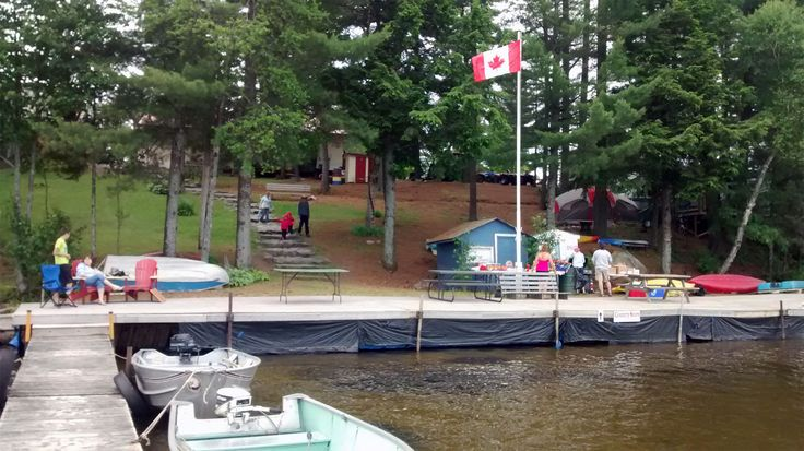 Thanks to Eagle Lake Narrows for allowing us to use their dock area for our event.