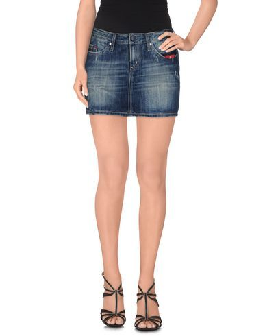 #Staff jeans and co. gonna jeans donna Blu  ad Euro 30.00 in #Staff jeansco #Donna jeans gonne jeans