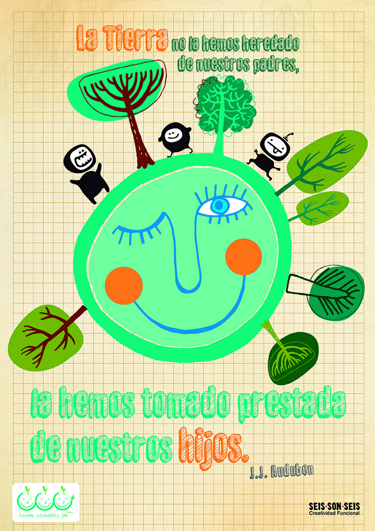 Seisonseis para Extreme Sustainability Jam 2013 #creatividad #sostenibilidad