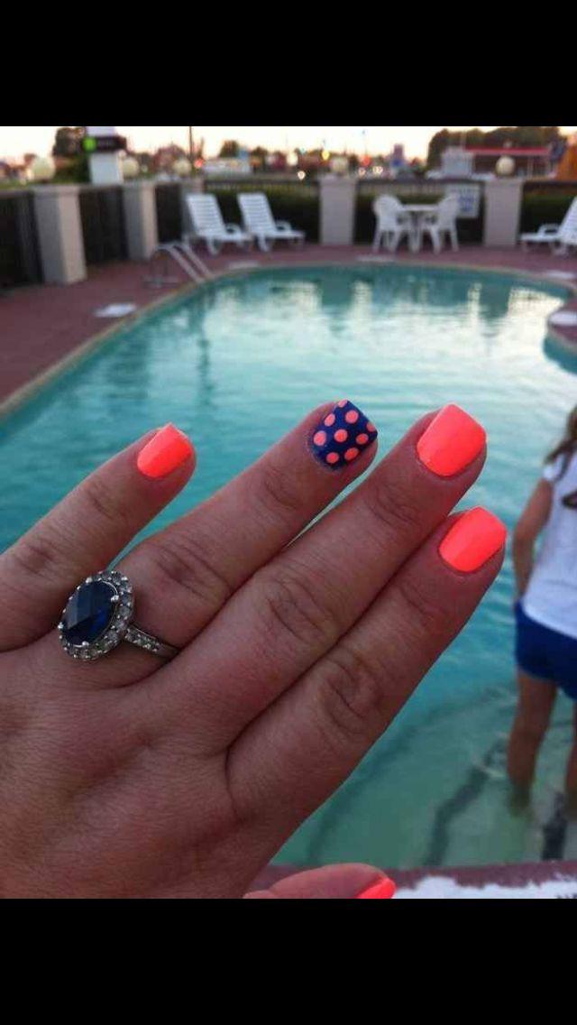 Florida gator colors!!