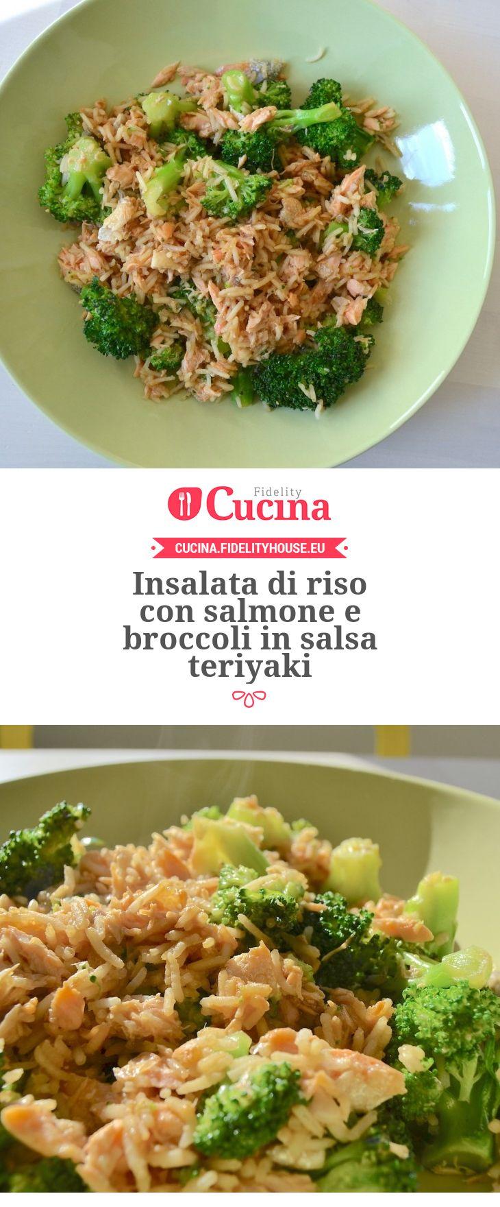 Insalata di riso con salmone e broccoli in salsa teriyaki della nostra utente Martina. Unisciti alla nostra Community ed invia le tue ricette!