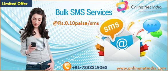 Choose Bulk sms service to boost your business to make new customer every day and get instant delivery report.We provide you minimum 1 lac sms at only just @Rs.0.10paisa/sms and generate 40 guaranteed genuine calls For more info visit: Bulk sms service provider
