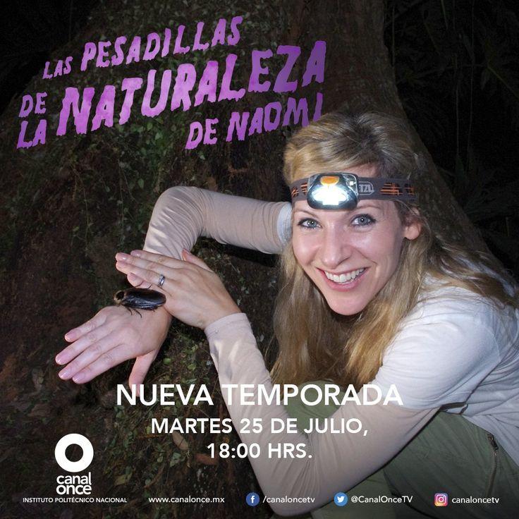 PESADILLAS DE LA NATURALEZA DE NAOMI EN CANAL ONCE