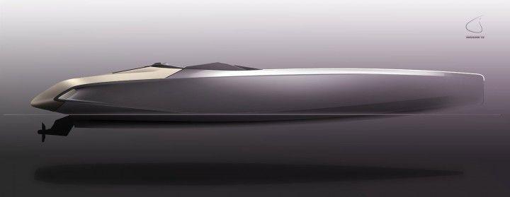 Peugeot Concept Powerboat - Design Sketch