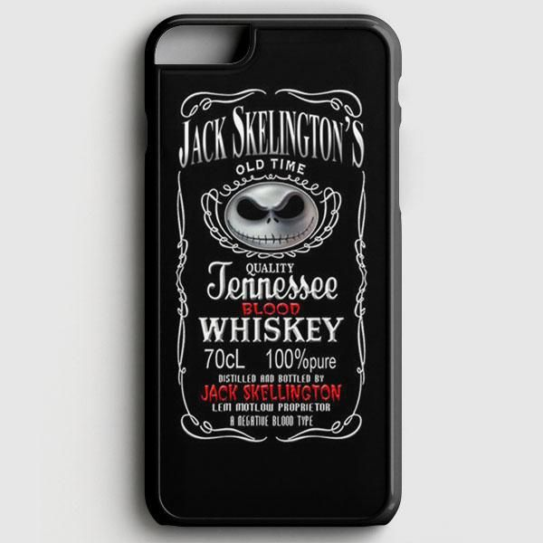 jack daniels and jack skelington iphone case