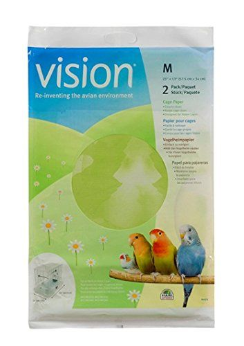 The Vision Cage Paper was inspired by nature to facilitate regular maintenance and reduce the mess outside the cage. It allows you to spend more time with your pet and less time cleaning. Vision Cage...