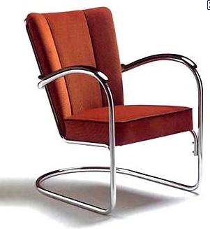 Gispen 412 · Rocking ChairArmchairFurniture DesignChairs RugDutchProductsFunctionalismStreamline Moderne
