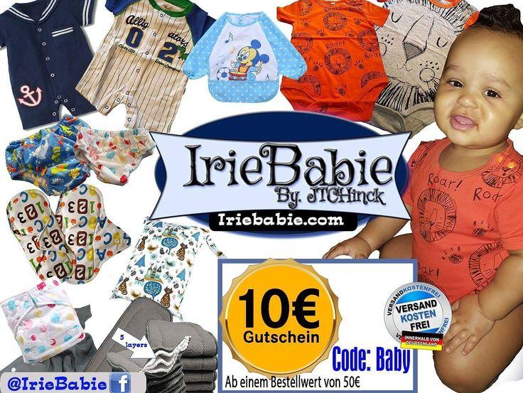 Bei IrieBabie.com  gibt's viele tolle Sommersachen für deinen Schatz! Für  😍 Zuckersüße   Strampler, Kurarm Body, Schwimmwindeln, Stoffwindeln und mehr - Schau hier: ➥ https://iriebabie.com/ Tipp: Mit Code Baby bekommst du außerdem gratis Versand innerhalb Deutschland und einen 10 € Gutschein!  😍  #supportasista #Nasstaschen #Stoffwindeln #babybekleidung #IrieBabie  #womeninbusinessDE #frauennetzwerk #businessfrau #powerfrauen #powerfrau #mompreneursde #frauenpower #geschäftsfrau…