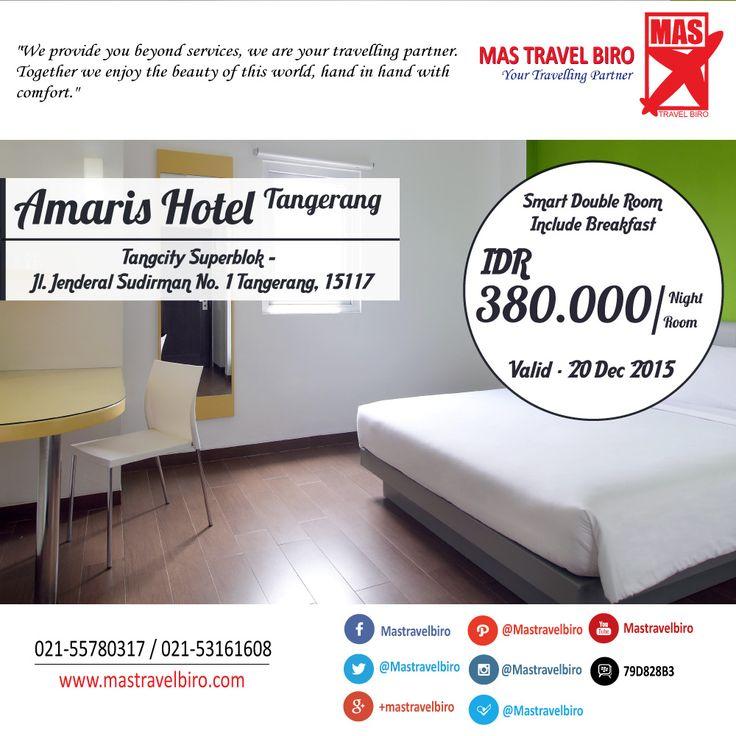 Amaris Hotel Tangerang , Letak Strategis di Kawasan Tangcity Mall, Hanya Rp 380.000/Malam , Pesan Sekarang !! ;) #hotel #promo #amarishotel #tangerang