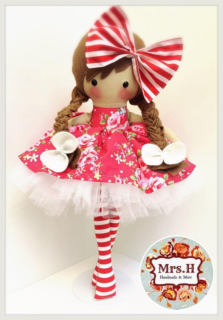 www.facebook.com/mrshmakesdolls Handmade dolls