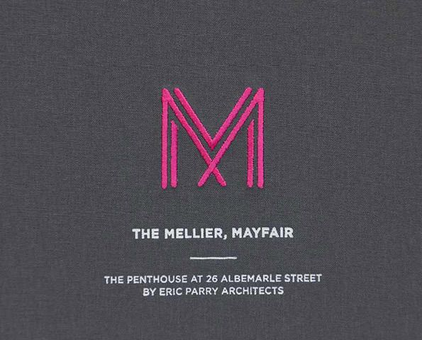 Graphic Design: Ico Design's stunning book for new Mayfair development