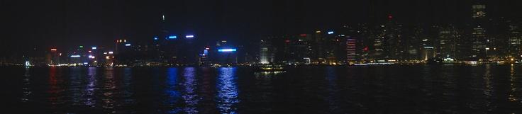 HK Harbour Night View.