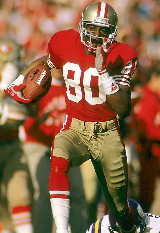 Jerry Rice - 20 NFL, 1,549 rec, 22,895 yds, 14.8 avg, 197 tds