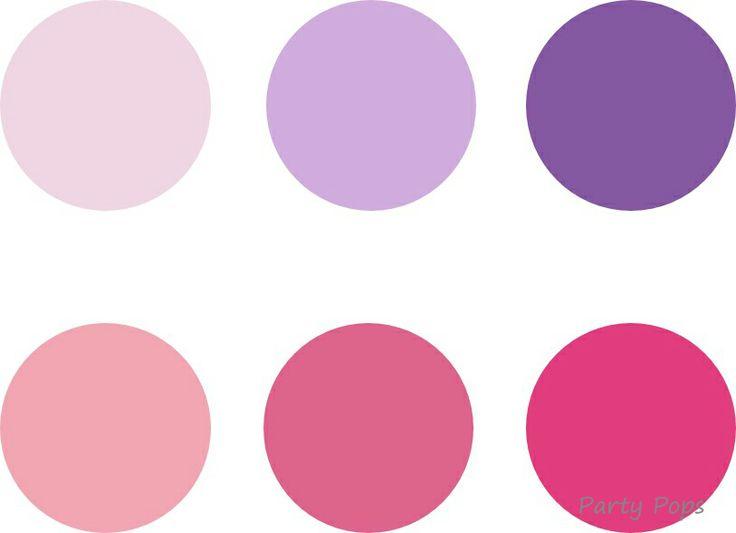 Violetta Birthday Party Colour Palette http://partypopsblog.wordpress.com/tag/violetta/