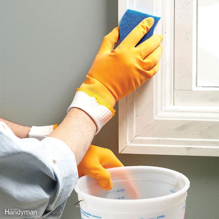 You have to start with a clean surface for paint to adhere to previously painted walls and woodwork. Use a sponge and a trisodium phosphate cleaner (or TSP substitute) to quickly wash off dirt, grime and soot. TSP cleans fast and usually doesn't require a lot of scrubbing. Buy TSP concentrate and mix it with water—it's a better value than liquid TSP. A 16-oz. box costs about $5 at home centers. Use TSP on all of your woodwork. It slightly etches the paint, which helps the paint form a…