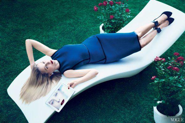 Marissa Mayer in Vogue (2013)