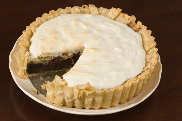 """Tourte de Chocolate - 18th century recipe   via """"History is Served"""" presented by Colonial Williamsburg Historic Foodways"""