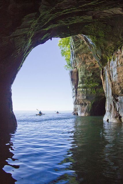 apostle islands national lakeshore, wisconsin --  http://www.nps.gov/apis/index.htm (photo credit old_school_dave on flickr)