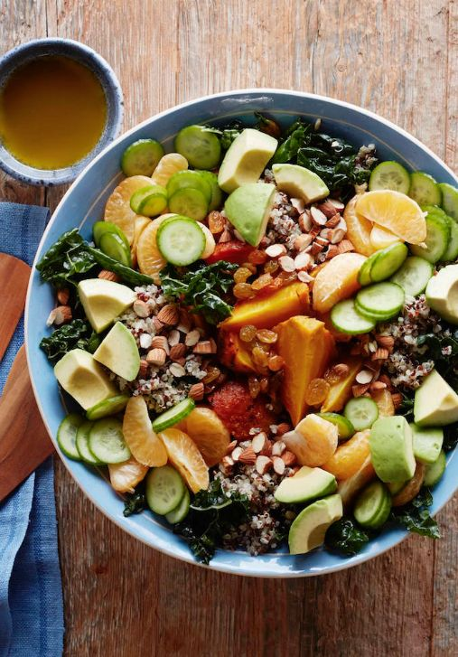 Superfood Salad from www.whatsgabycooking.com - a whole bunch of superfoods stuffed into 1 salad! (@whatsgabycookin)