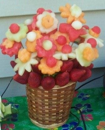 Kid Friendly Birthday Party Food - Would make a great centerpiece!
