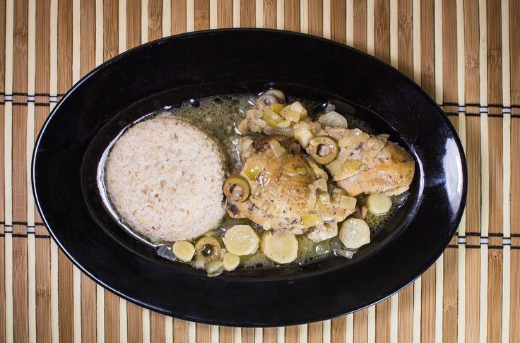"""Kurczak smaczny - old polish recipe """"tasty chicken"""""""