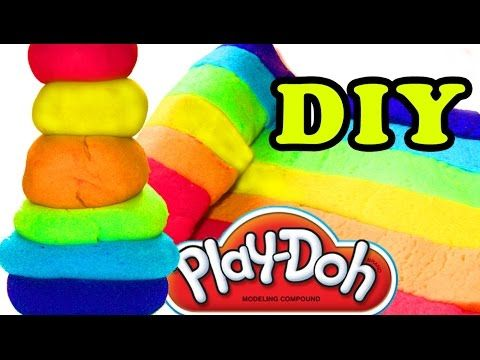 DIY How to Make Play Doh easy Playdough Learn Colors Video Kids Funny Toyo Surprise Toys - YouTube
