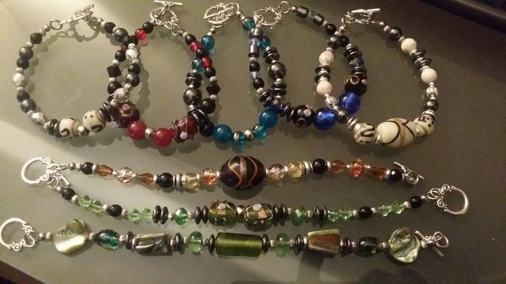 Toggle bracelets by glaetzer jewellery kreations