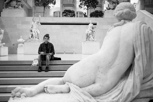 """""""Le dessin est la probité de l'art."""" - Ingres [Explored] by laurent.breillat, via Flickr"""