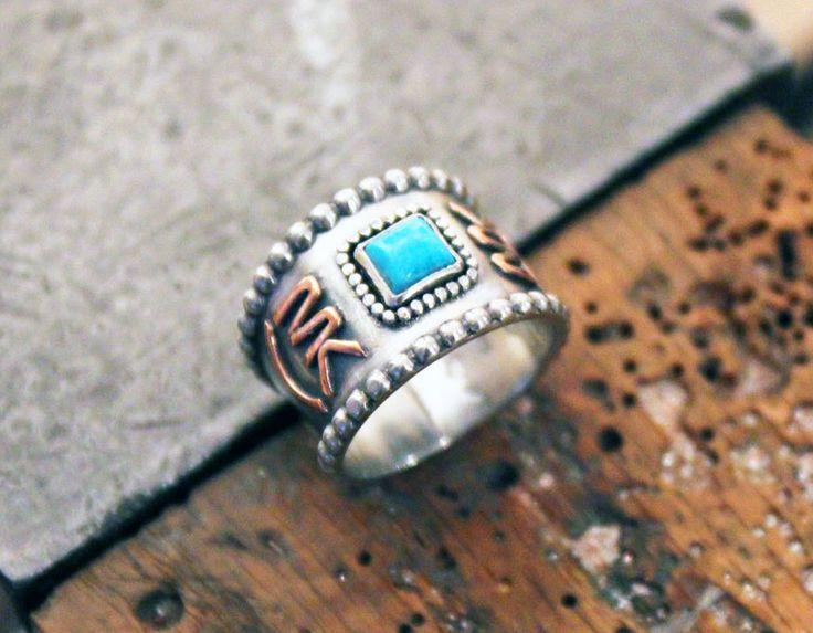 Custom Livestock Brand Ring. Custom Brand Ring. Western Jewelry. Cattle Brand Ring by Little Winged Heart on Etsy
