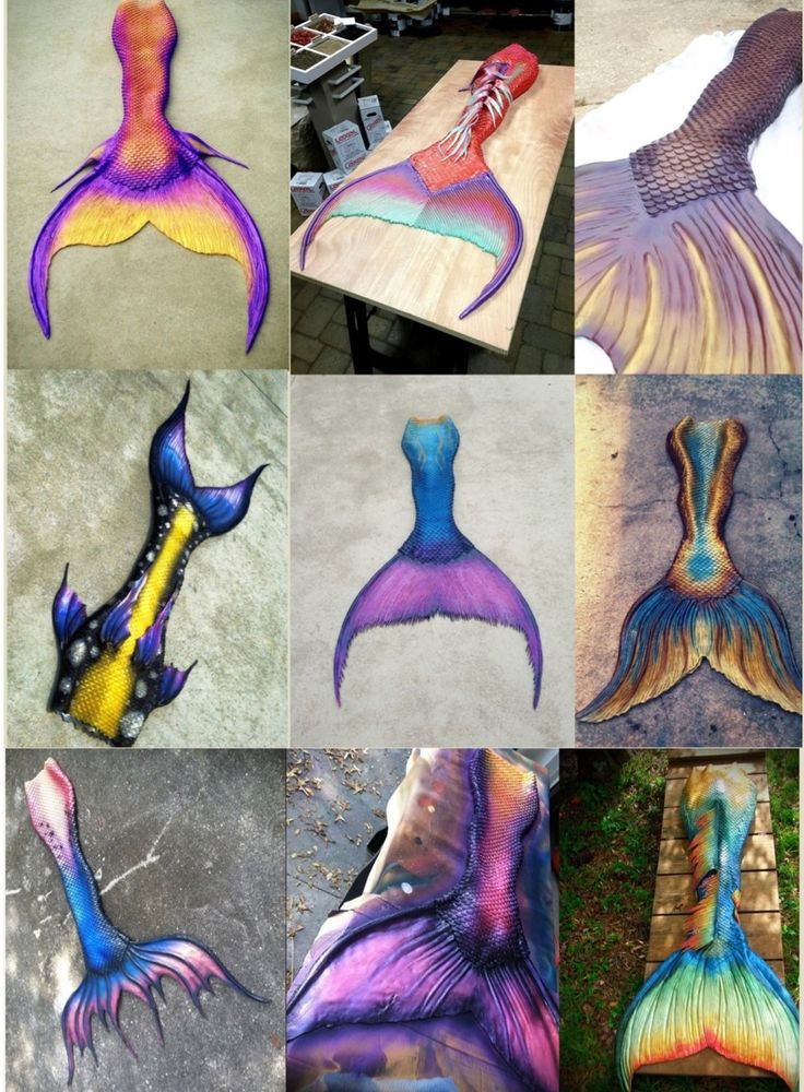 Beautiful custom fit mermaid tails available for sale