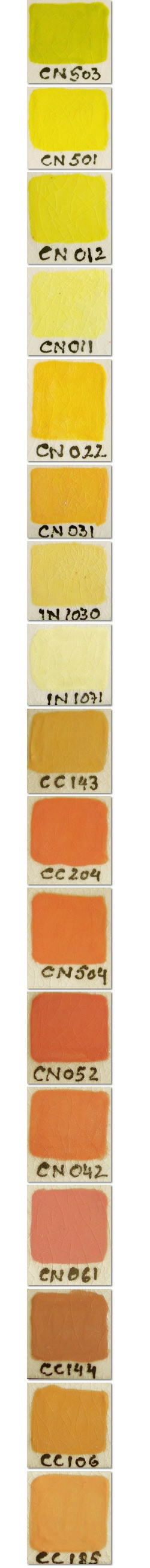 Cover-Coat® Opaque Underglazes  If you love layers, coat your pieces with Cover-Coat® Opaque Underglazes! Applied directly to greenware, soft-fired bisque or bisque, these underglazes provide solid coverage over even the darkest colors, and are perfect for airbrushing and brushwork.: Color Chips, Colour Chart, Beats Color, Color Charts, Color Sample, Darkest Colors, Color Pattern Scenes, Color Texture