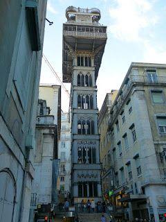 L'elevador de Santa Justa #lisbona #travel #viaggi