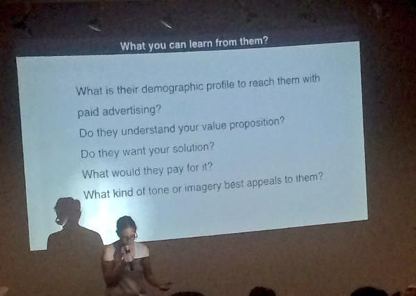 Anita Y Cheng @anitaycheng  Aug 15 What you can learn from user testing, from @JaimeRLevy @socaluxcamp